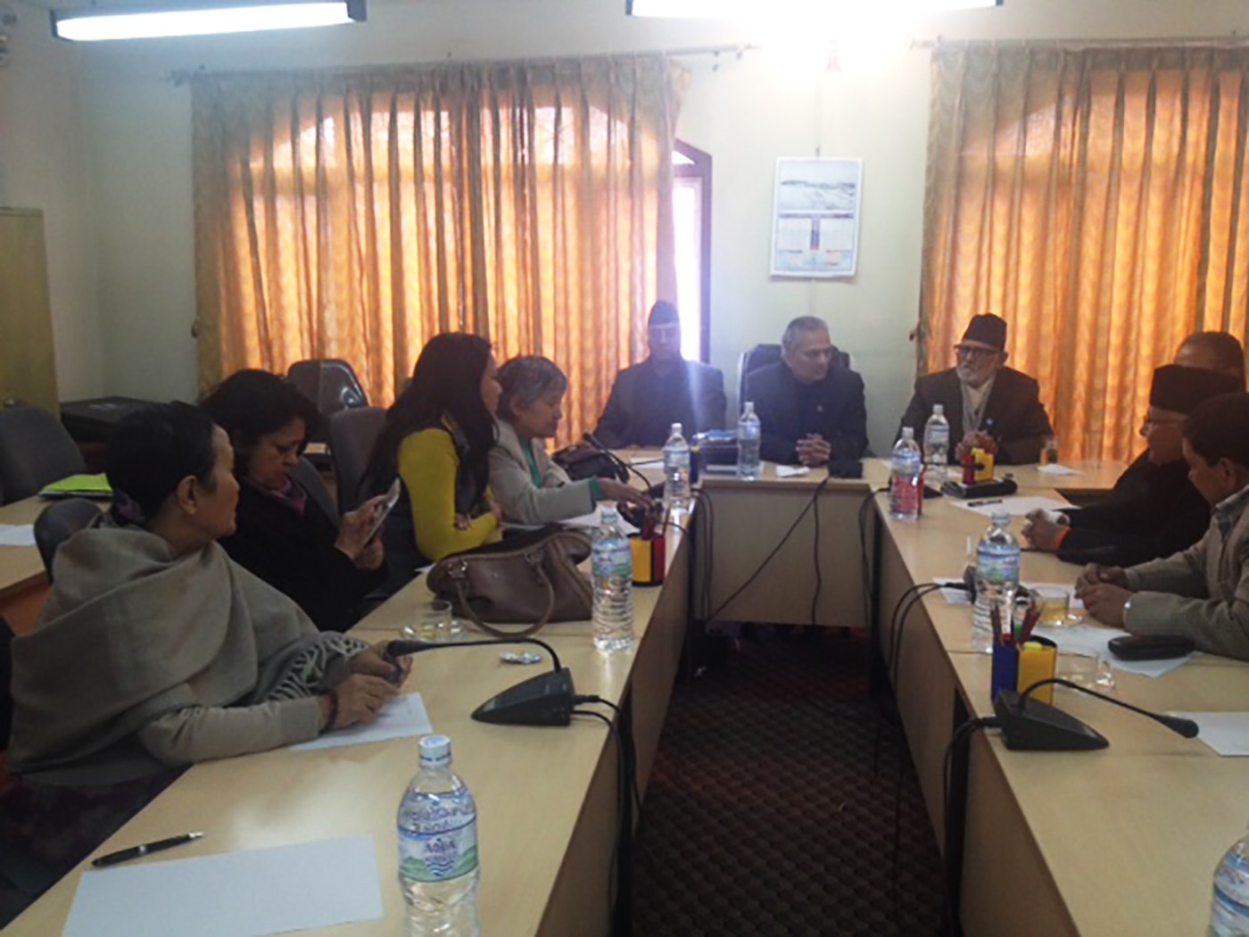 Meeting with the Constitutional Political Dialogue Committee on the citizenship provision on January 2015