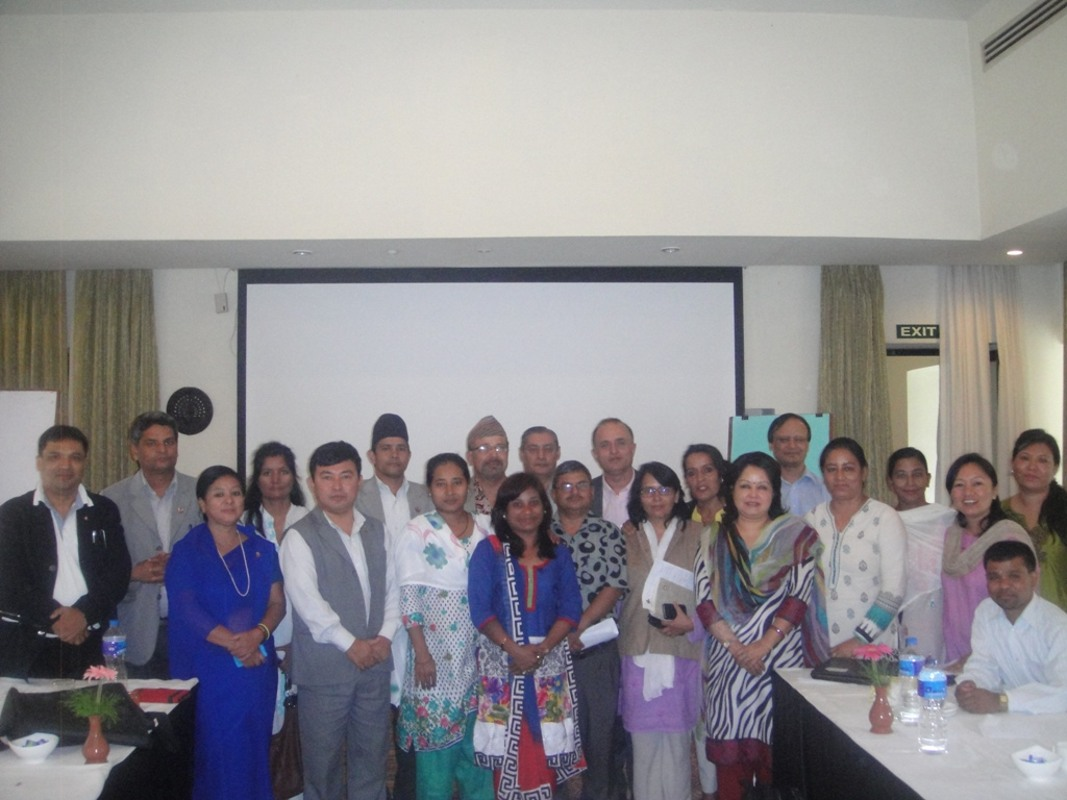 Discussion program with Constituent Assembly Members of of the Constitution Drafting Committee on the Citizenship provision organized in 2014