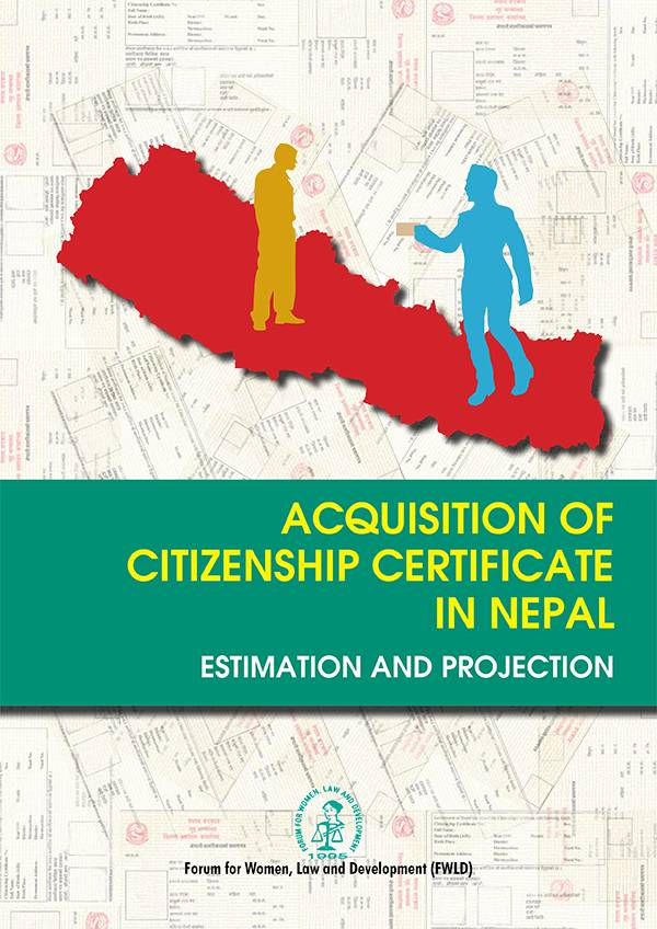 Acquisition of Citizenship Certificate in Nepal: Estimation and Projection