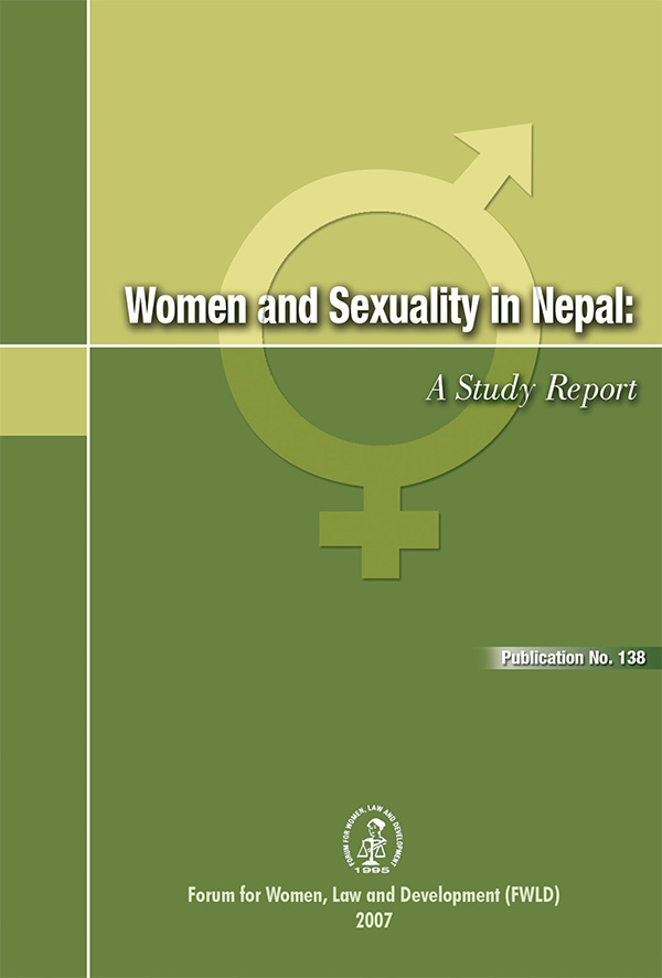 Women and Sexuality in Nepal A Study Report