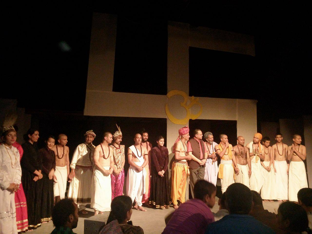 Final scene of the Play